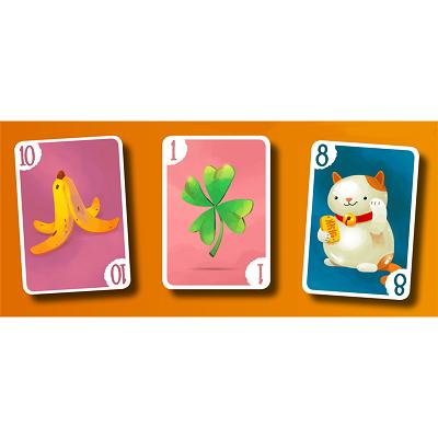 Jour de chance jeu de cartes x6