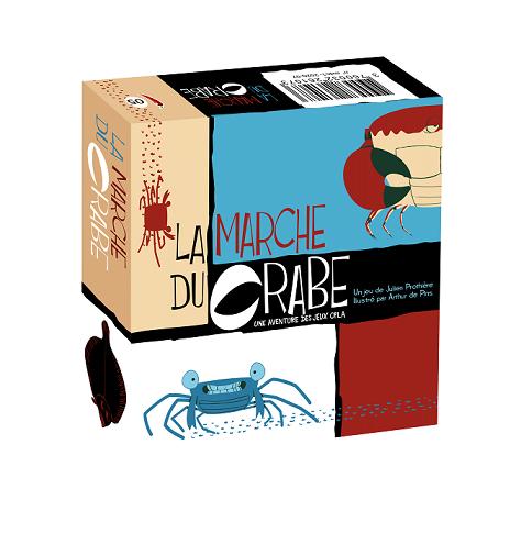 La marche du crabe boite3d