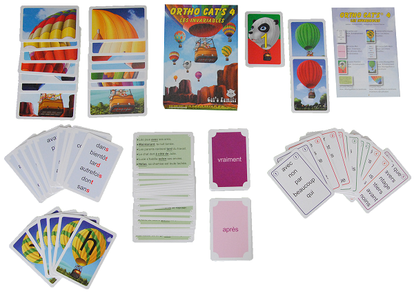 Orthocats4 cartes