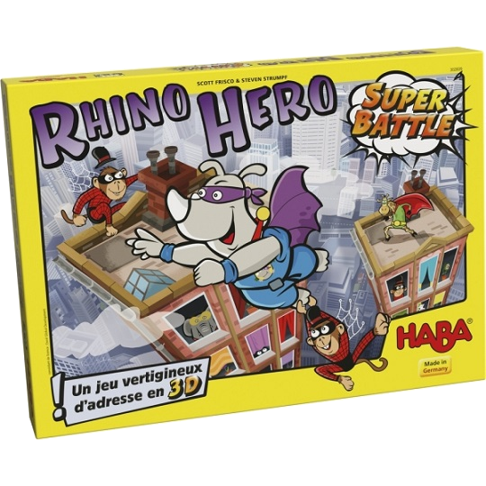 Rhino hero super battle haba a