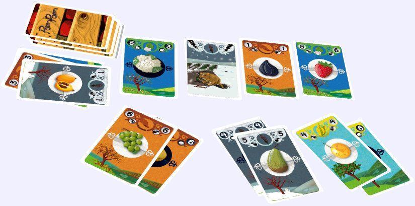 Pompom cartes