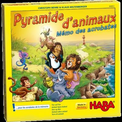 PYRAMIDE D'ANIMAUX MEMO DES ACROBATES