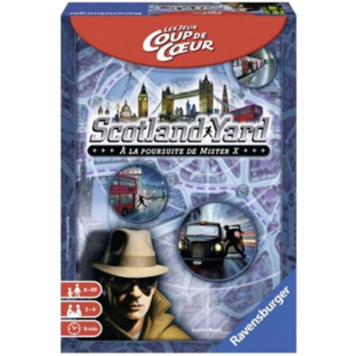 SCOTLAND YARD Version Coup de Coeur